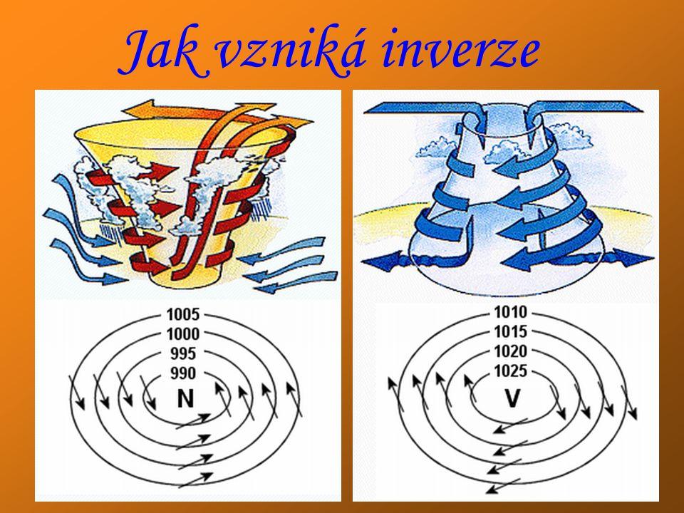 Jak vzniká inverze