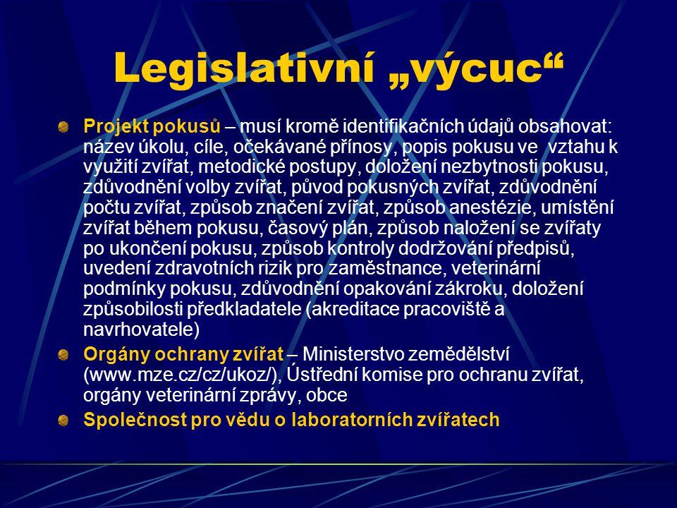 """Legislativní """"výcuc"""