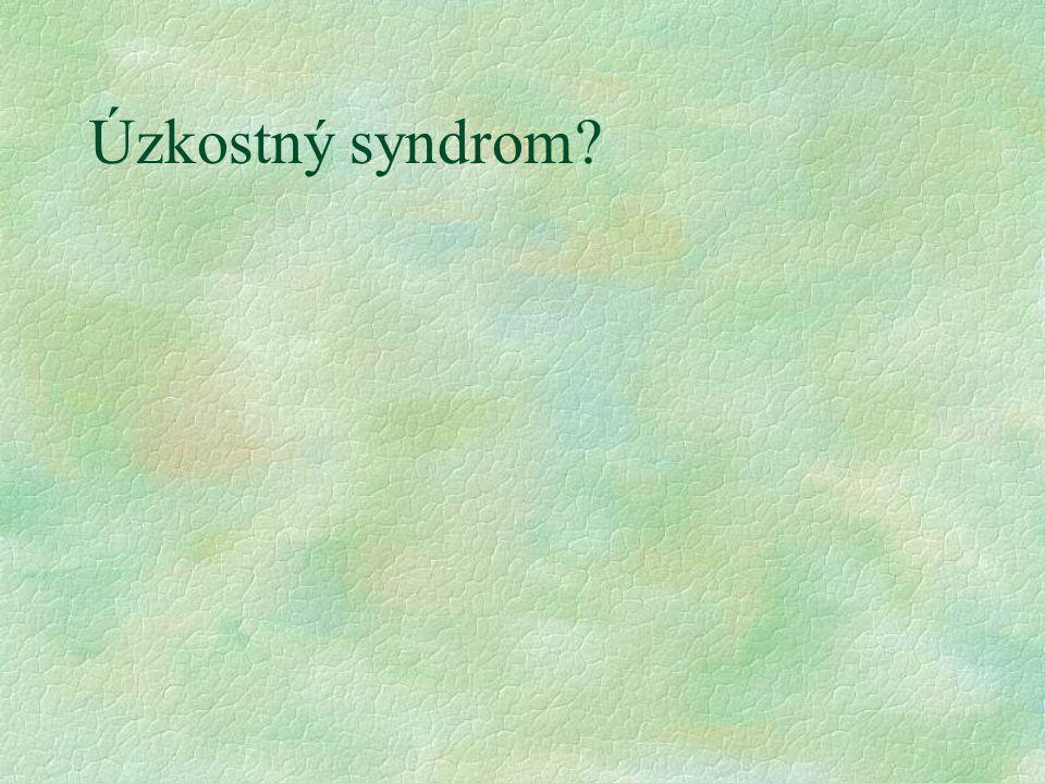 Úzkostný syndrom