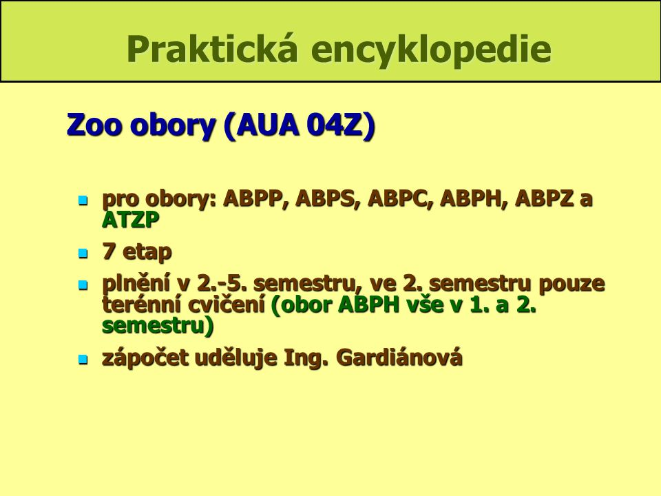 Praktická encyklopedie