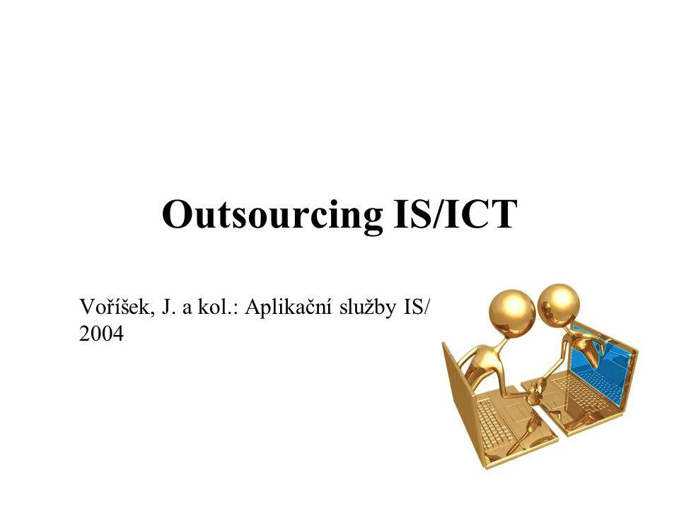 Voříšek, J. a kol.: Aplikační služby IS/ICT, Grada Praha, 2004