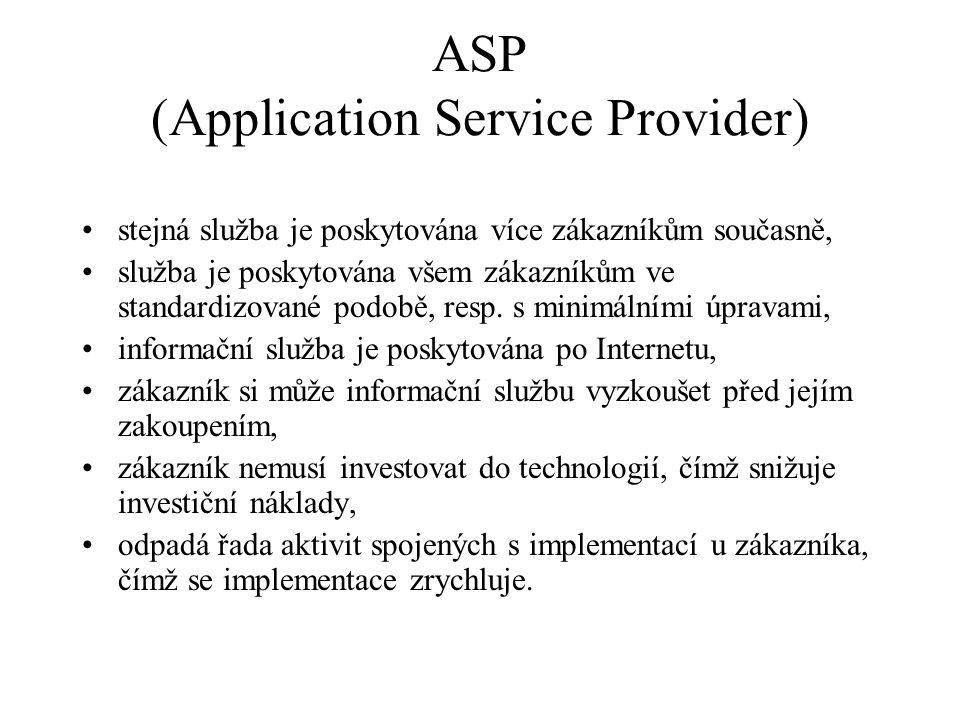 ASP (Application Service Provider)