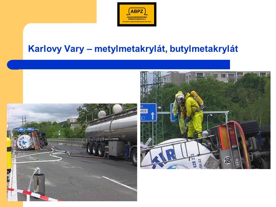 Karlovy Vary – metylmetakrylát, butylmetakrylát