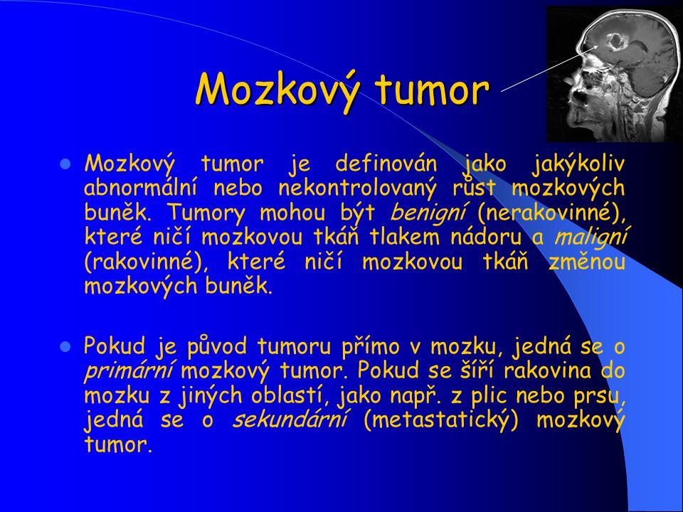 Mozkový tumor