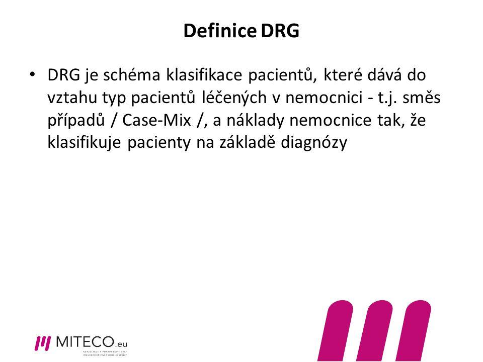 Definice DRG
