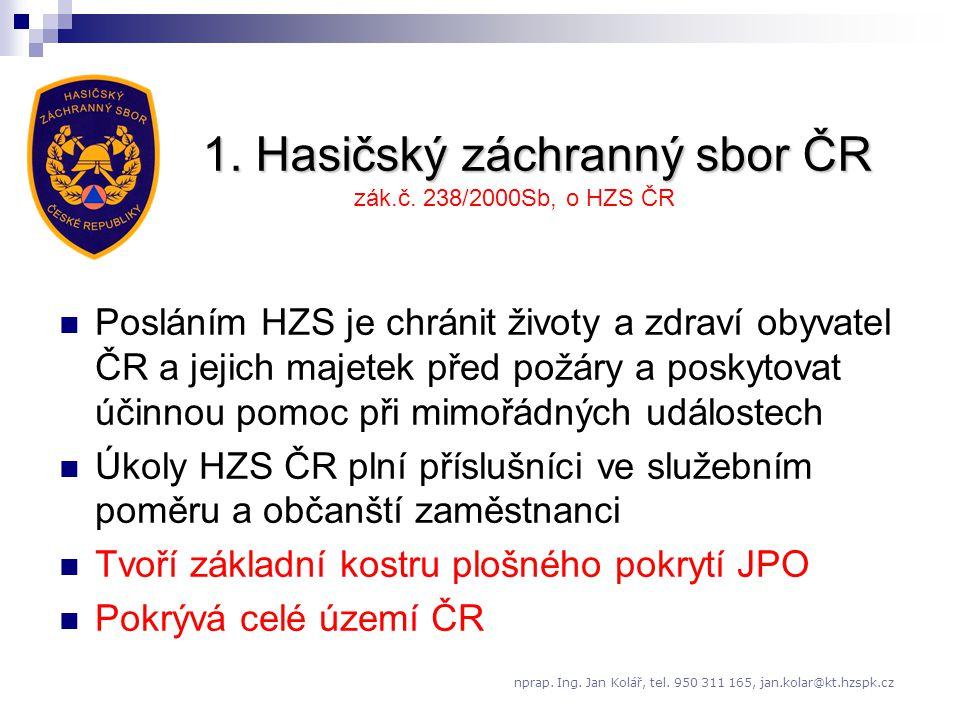 1. Hasičský záchranný sbor ČR