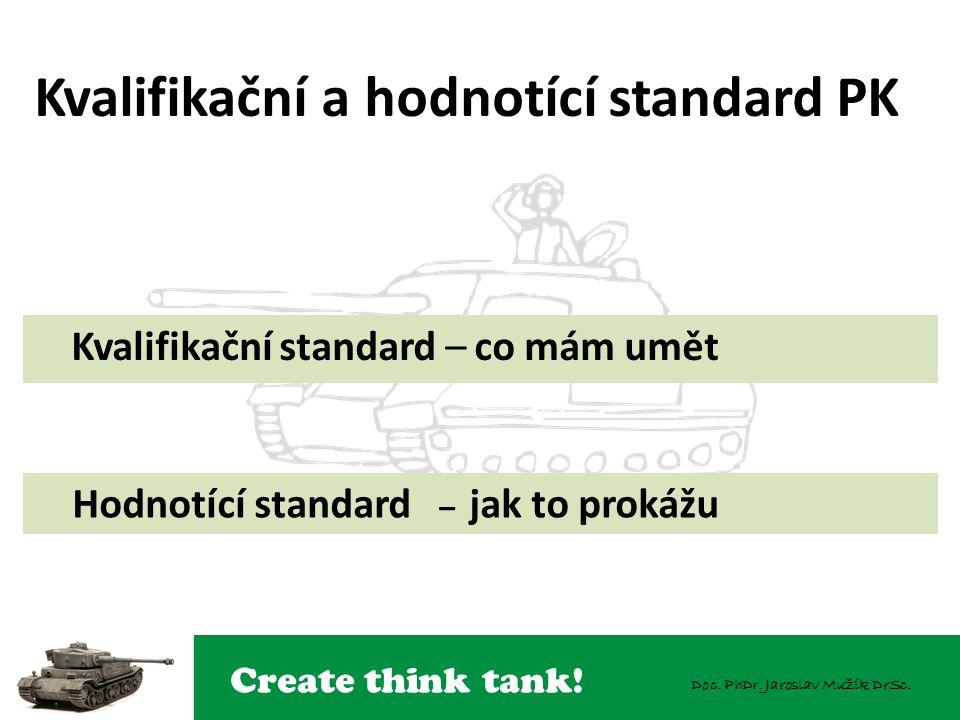 Kvalifikační a hodnotící standard PK