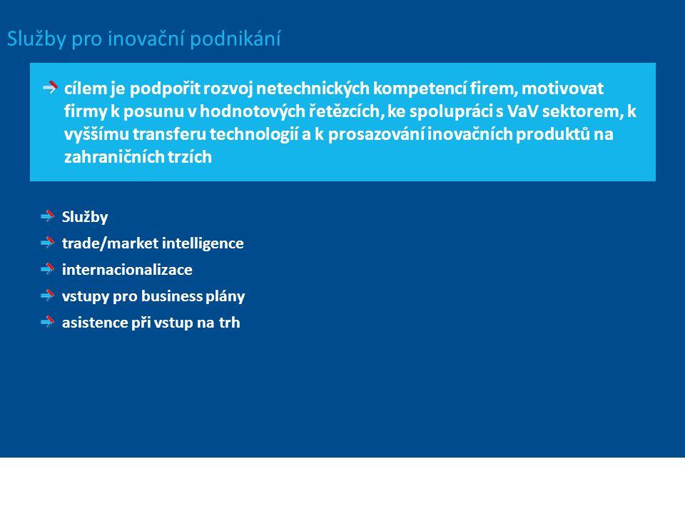 Služby pro inovační podnikání