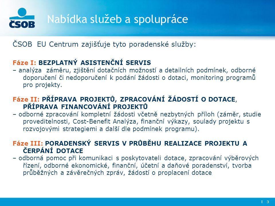 Nabídka služeb a spolupráce
