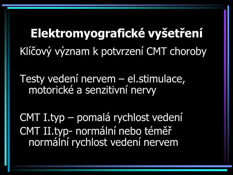 Elektromyografické vyšetření