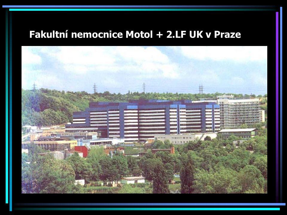 Fakultní nemocnice Motol + 2.LF UK v Praze