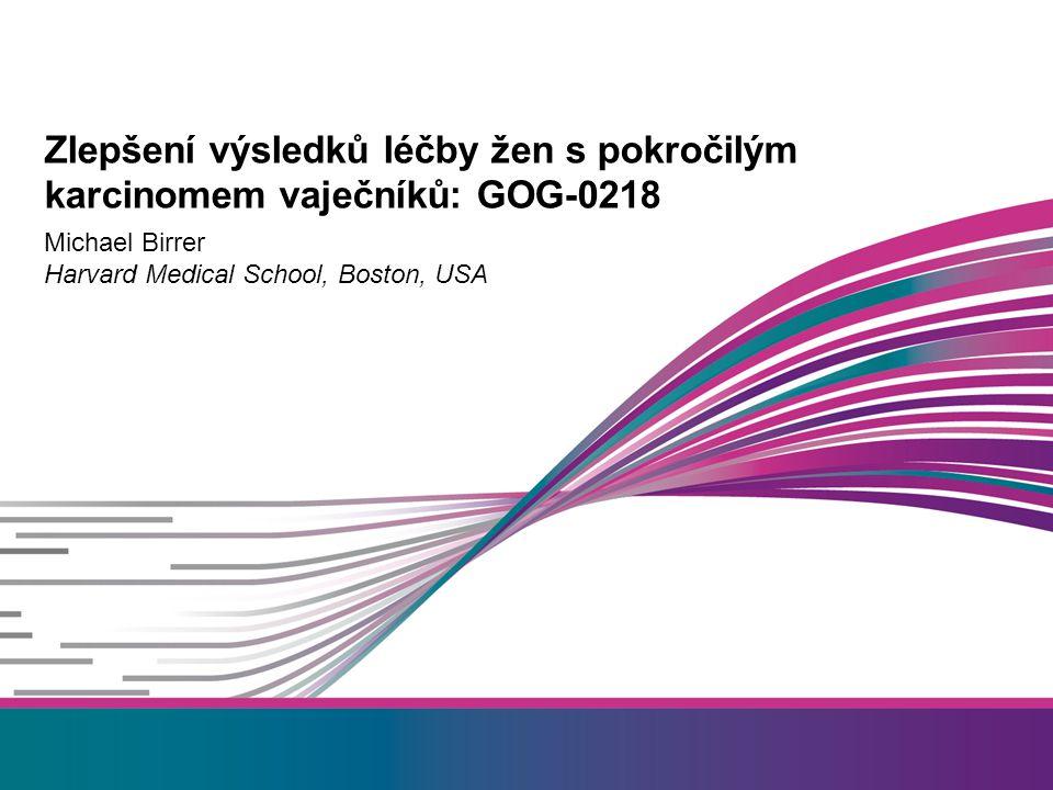 Zlepšení výsledků léčby žen s pokročilým karcinomem vaječníků: GOG-0218