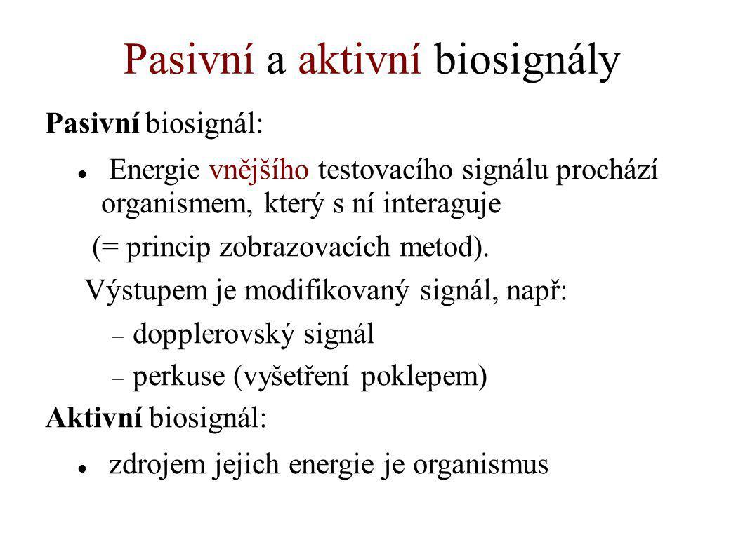 Pasivní a aktivní biosignály