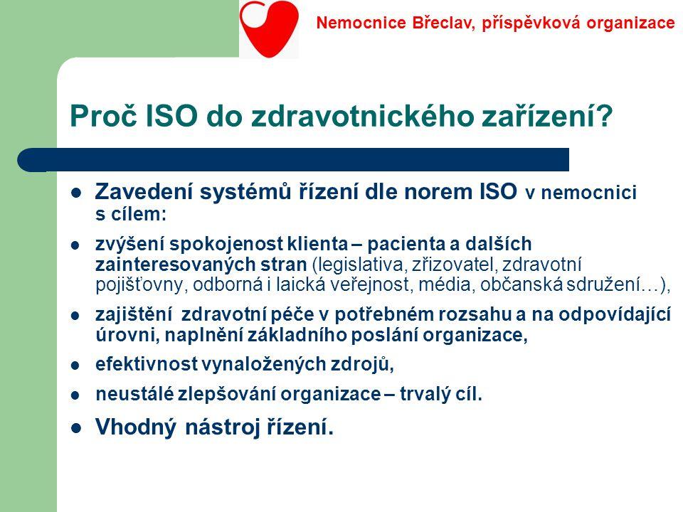 Proč ISO do zdravotnického zařízení