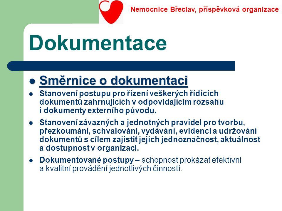 Dokumentace Směrnice o dokumentaci