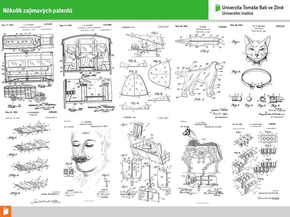 Několik zajímavých patentů