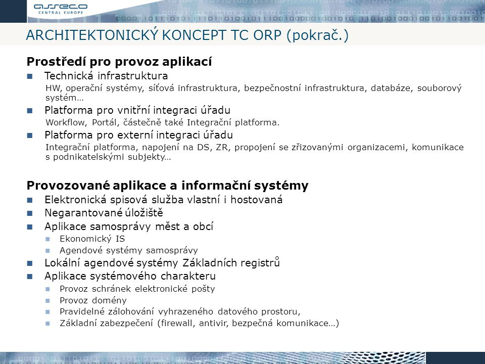 Architektonický koncept TC ORP (pokrač.)