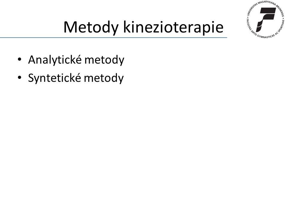 Metody kinezioterapie