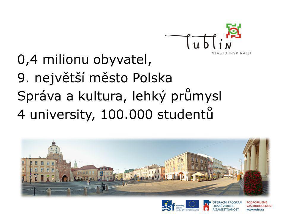 0,4 milionu obyvatel, 9.