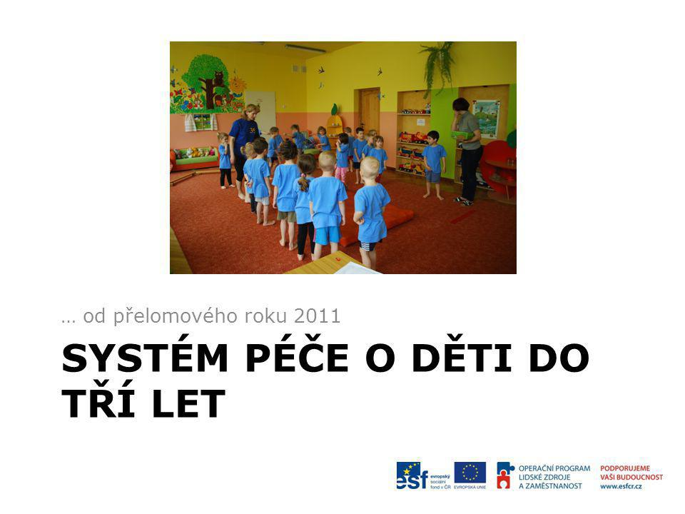 Systém péče o děti do tří let