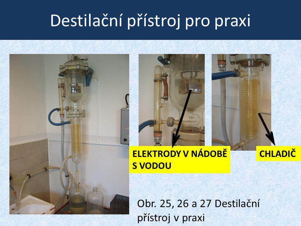Destilační přístroj pro praxi