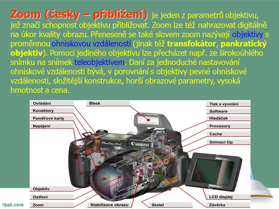 Zoom (česky – přiblížení) je jeden z parametrů objektivu, jež značí schopnost objektivu přibližovat.