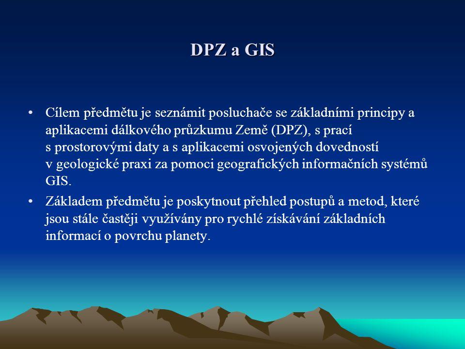 DPZ a GIS