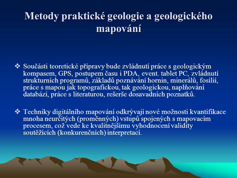 Metody praktické geologie a geologického mapování