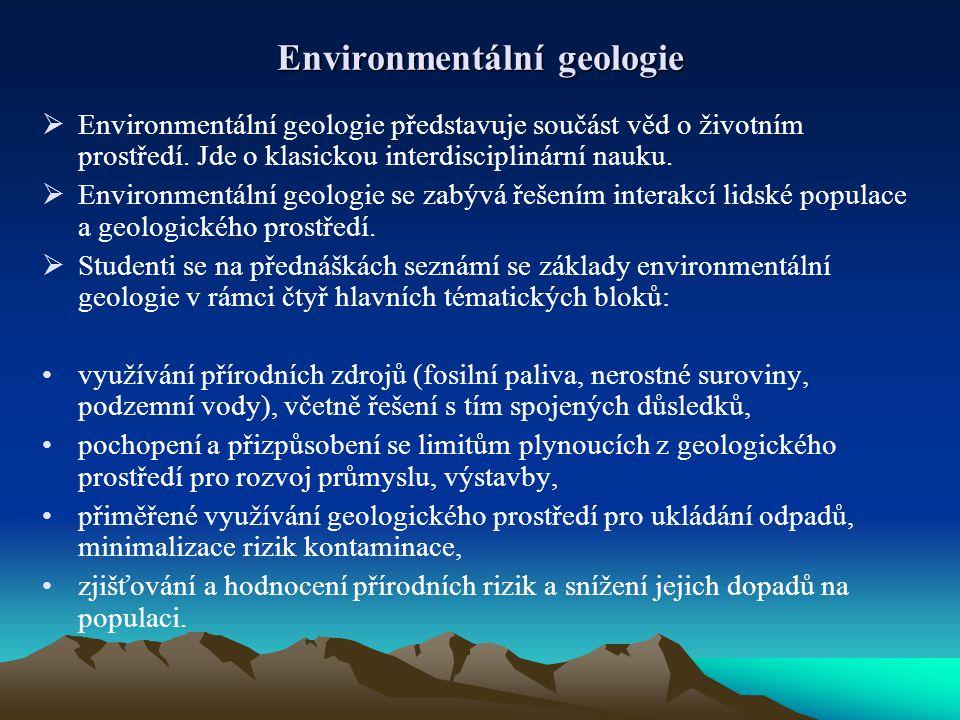 Environmentální geologie