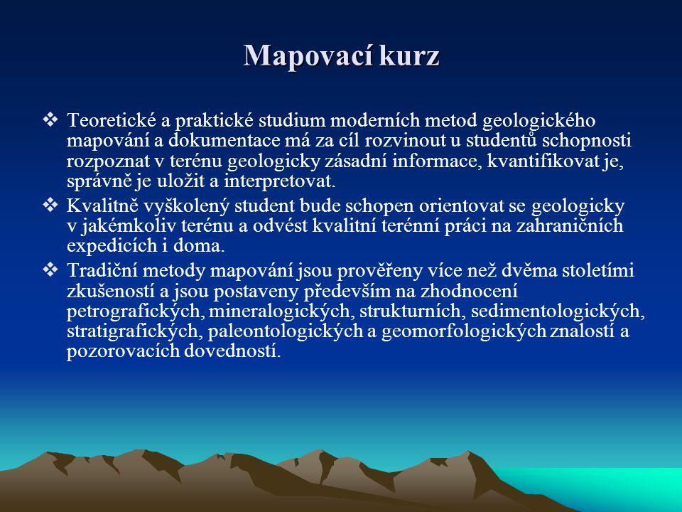 Mapovací kurz