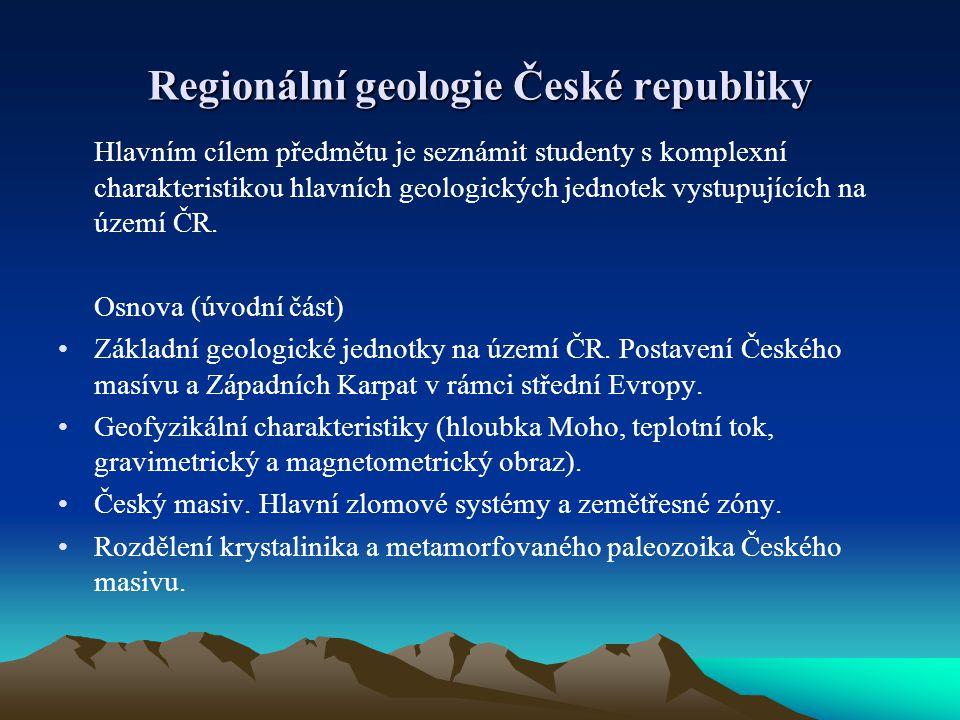 Regionální geologie České republiky