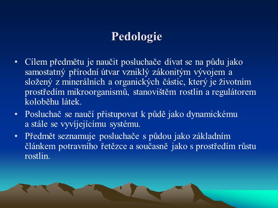 Pedologie