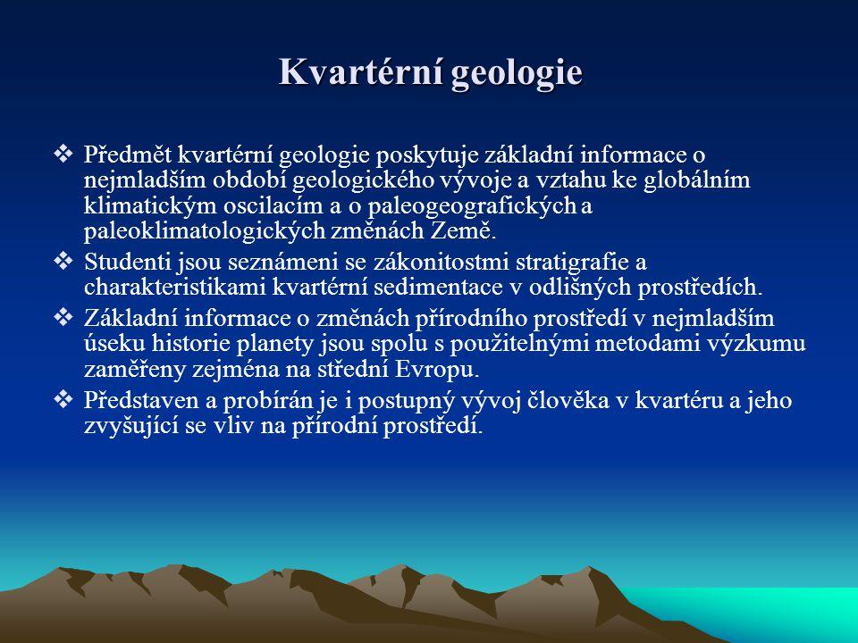 Kvartérní geologie