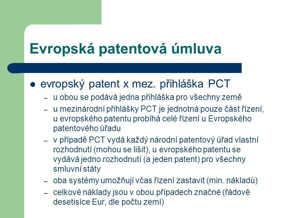 Evropská patentová úmluva