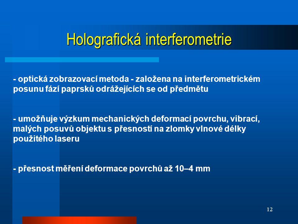 Holografická interferometrie