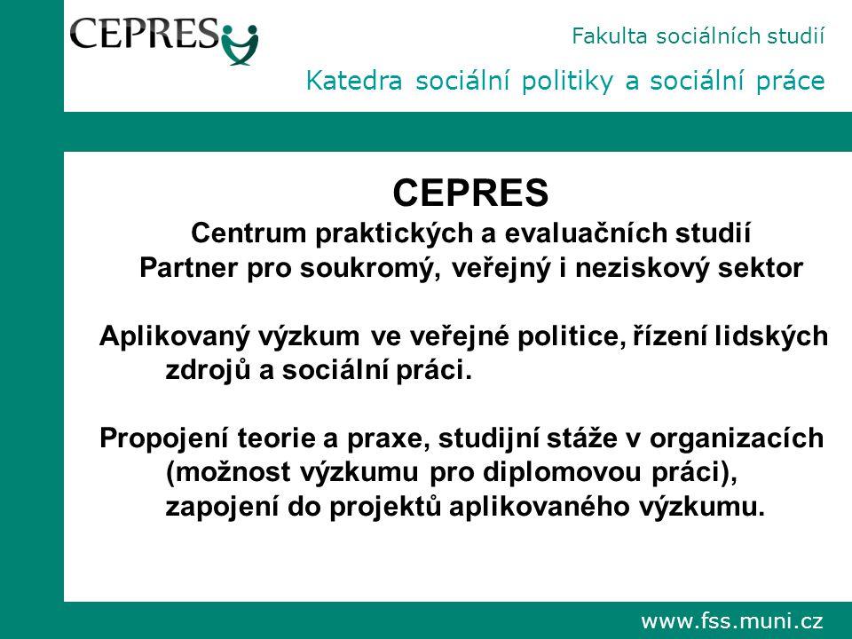 CEPRES Centrum praktických a evaluačních studií