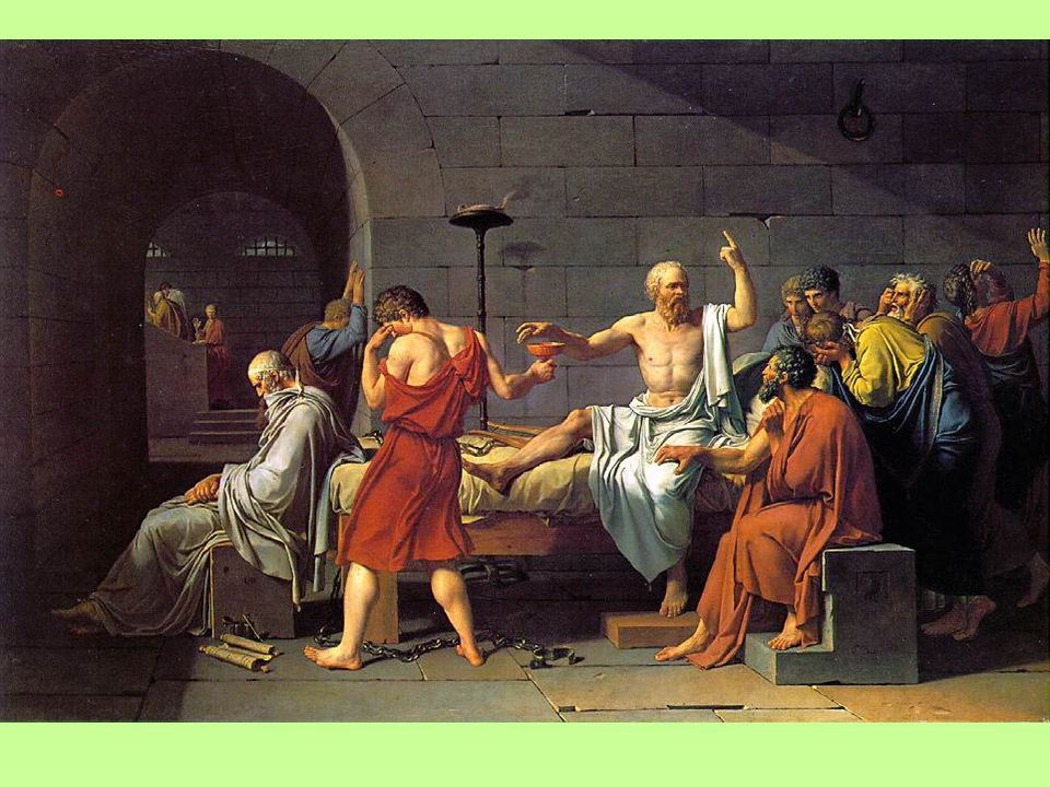 Jean Louis David: Smrt Sokratova