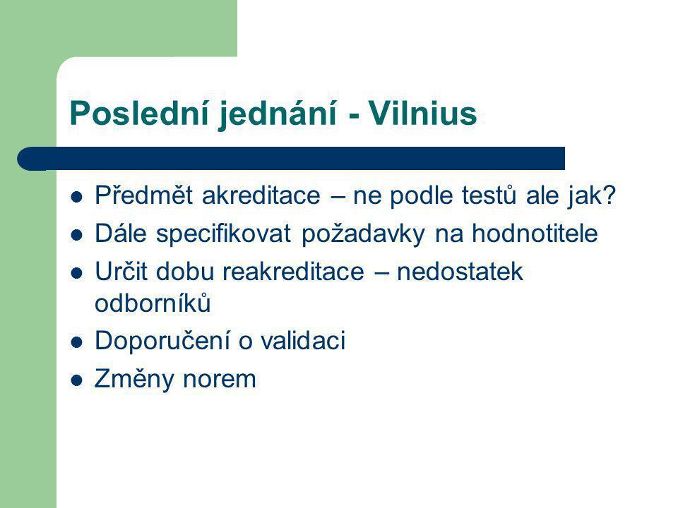 Poslední jednání - Vilnius