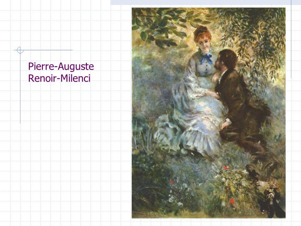 Pierre-Auguste Renoir-Milenci