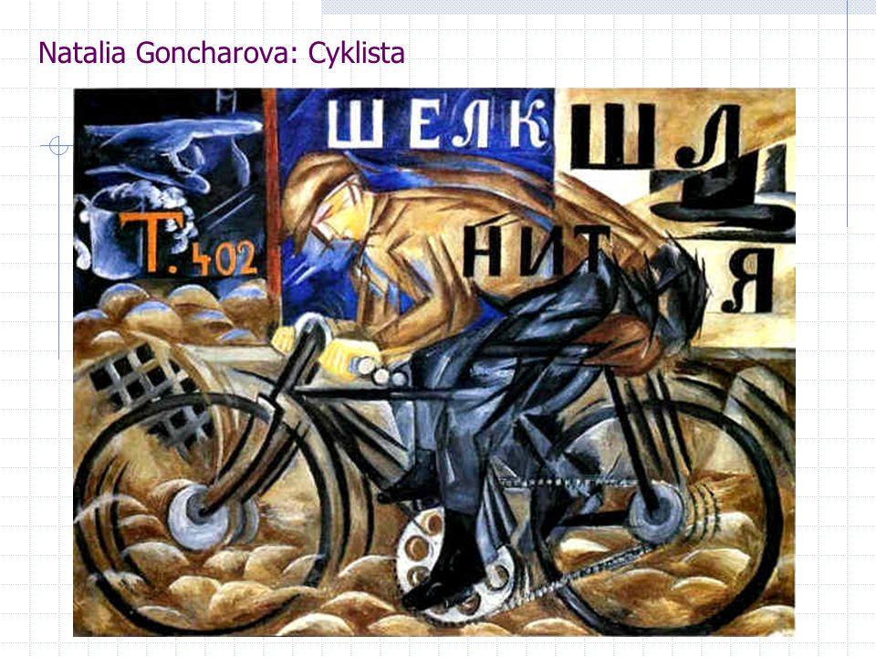Natalia Goncharova: Cyklista