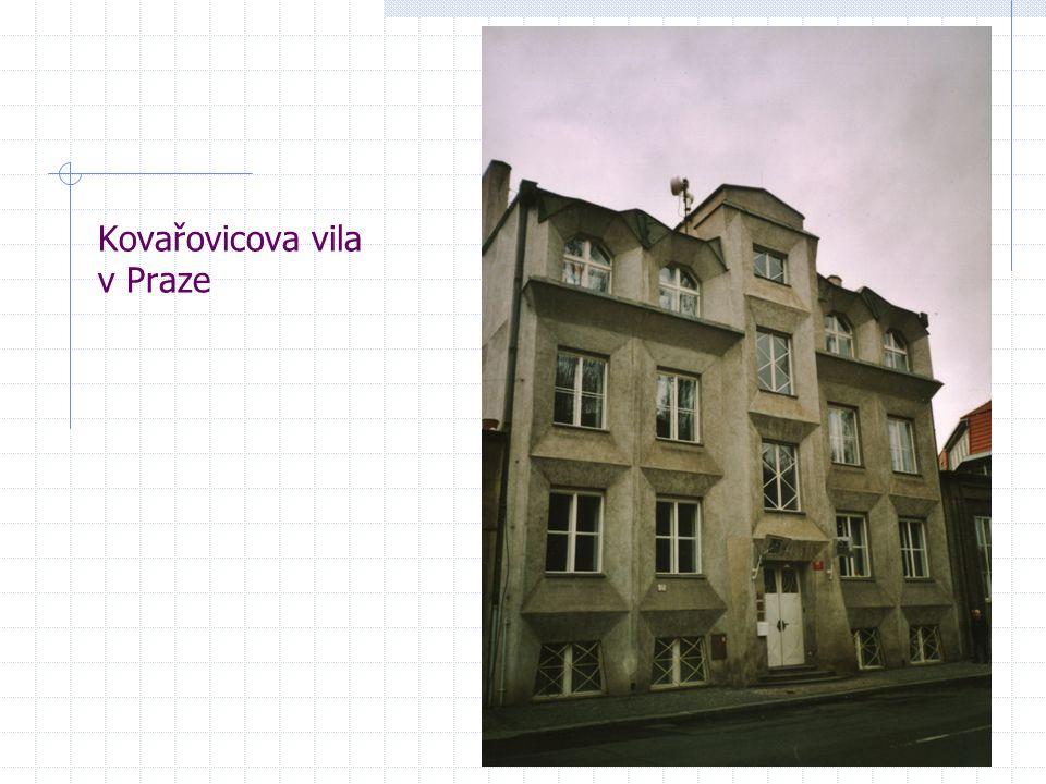 Kovařovicova vila v Praze