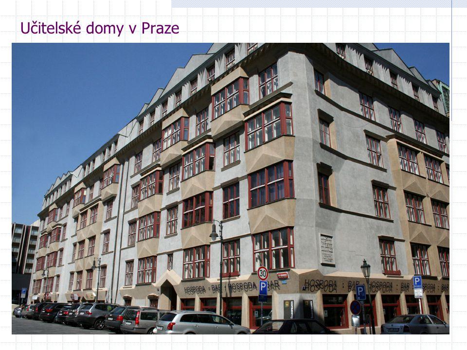 Učitelské domy v Praze