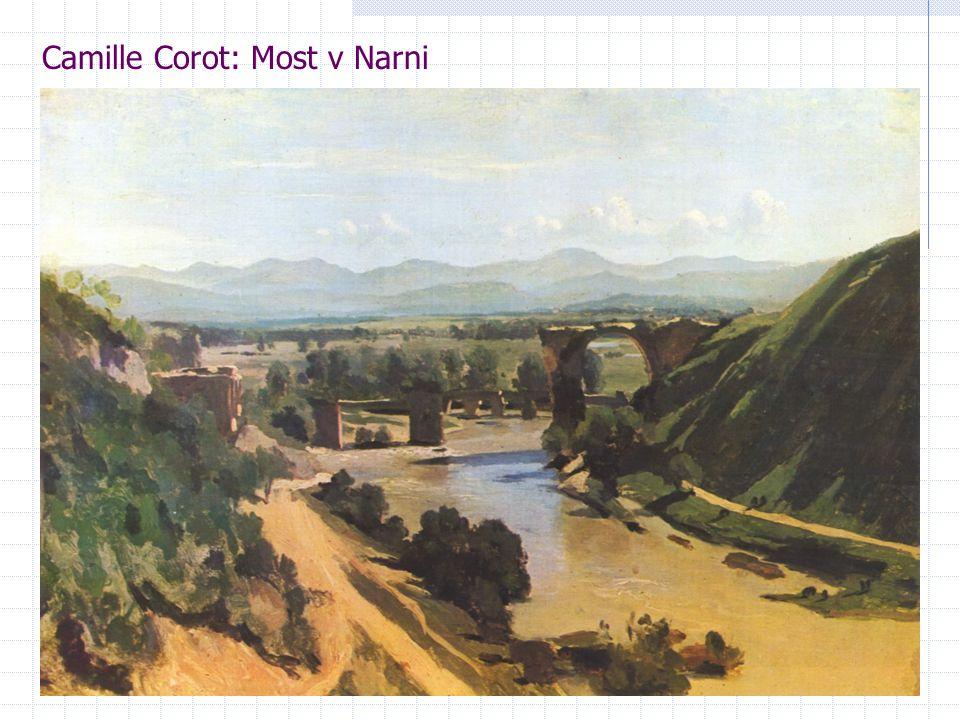 Camille Corot: Most v Narni