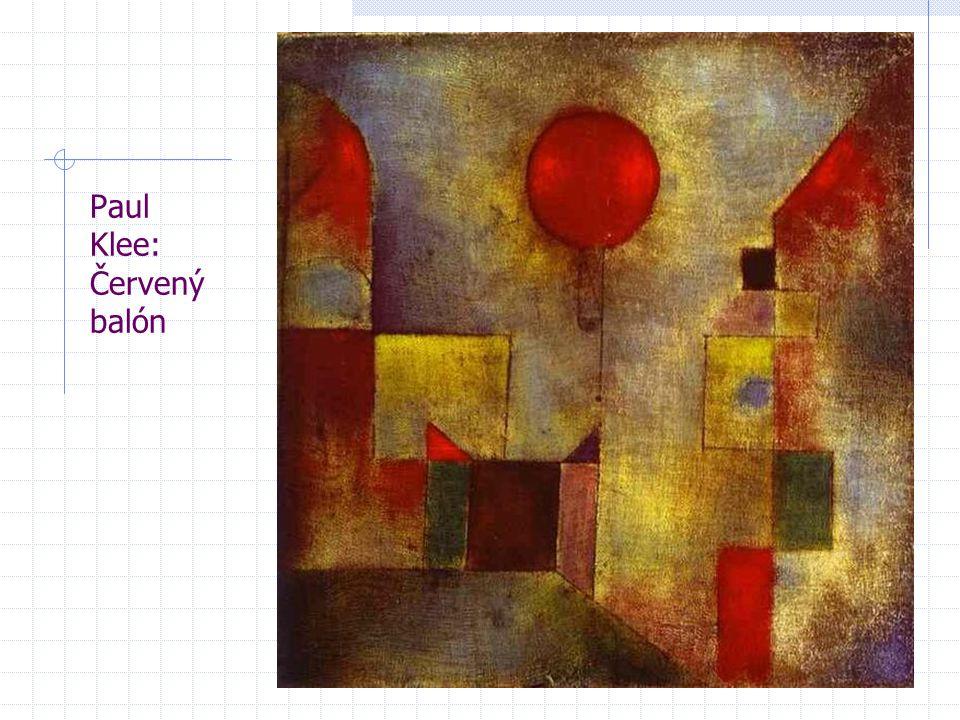 Paul Klee: Červený balón