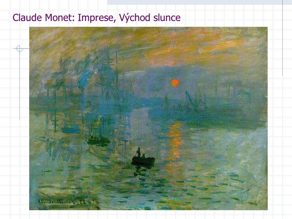 Claude Monet: Imprese, Východ slunce