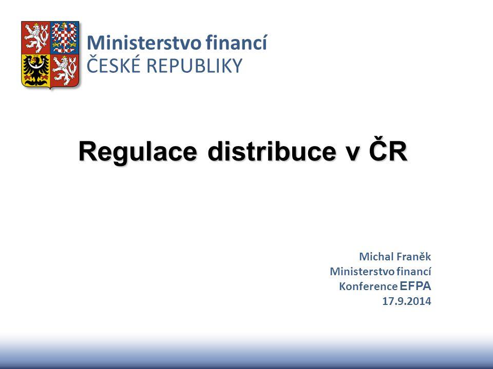 Regulace distribuce v ČR