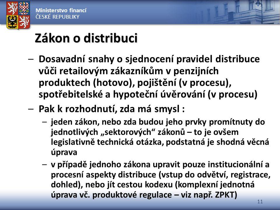 Zákon o distribuci