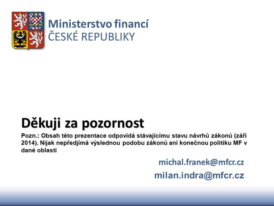 michal.franek@mfcr.cz milan.indra@mfcr.cz