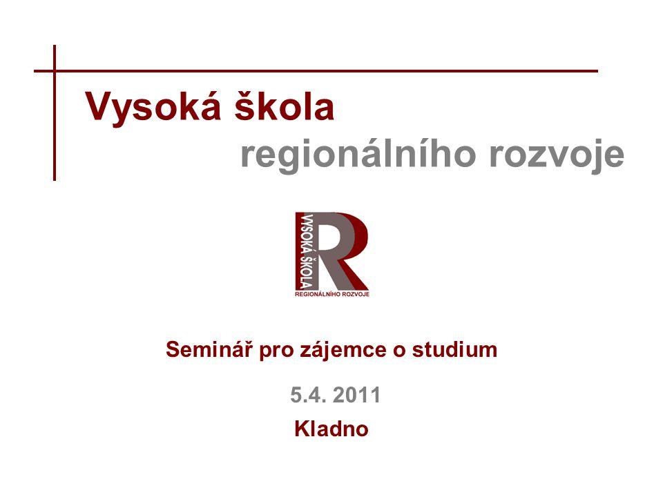 Vysoká škola regionálního rozvoje