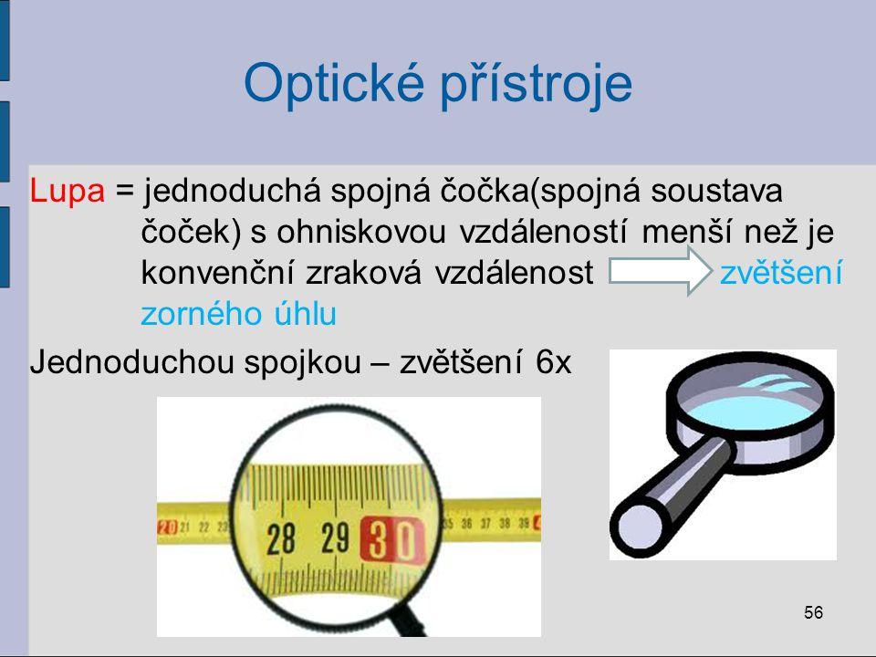 Optické přístroje